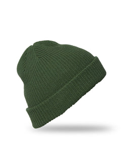 Full Stone Beanie - Dark Kelly