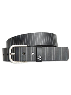 Empty Belt  - Asphalt Black