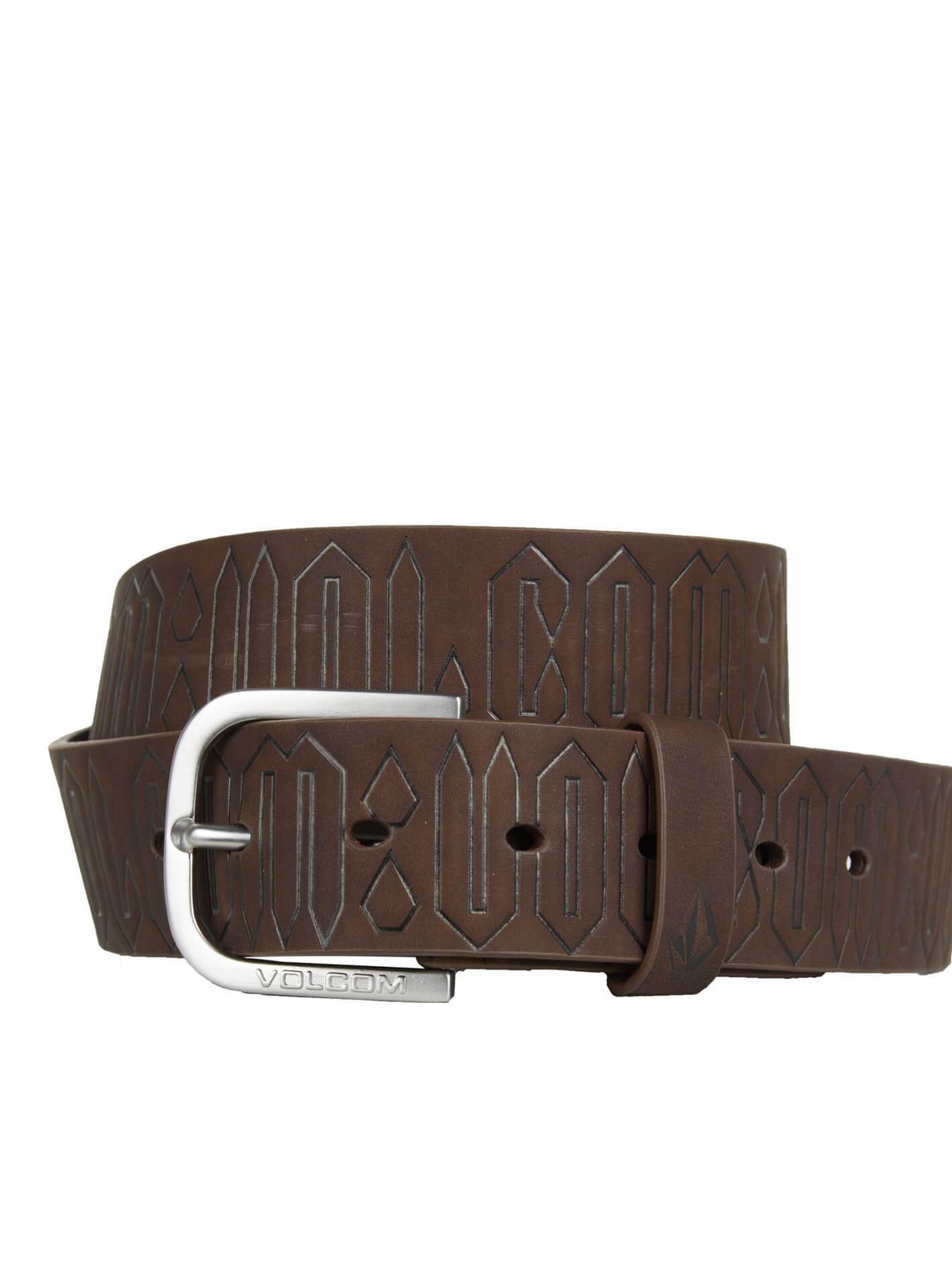 DRAFT PU BELT DARK CHOCOLATE