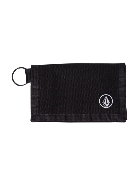 Full Stone Cloth Wallet - Black