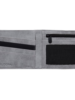 Slim Stone Wallet - Grey