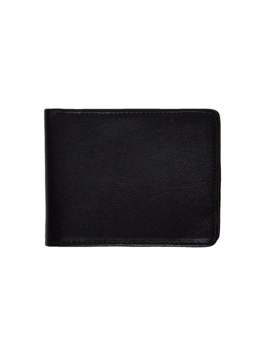 Strangler Leather Wallet - Black