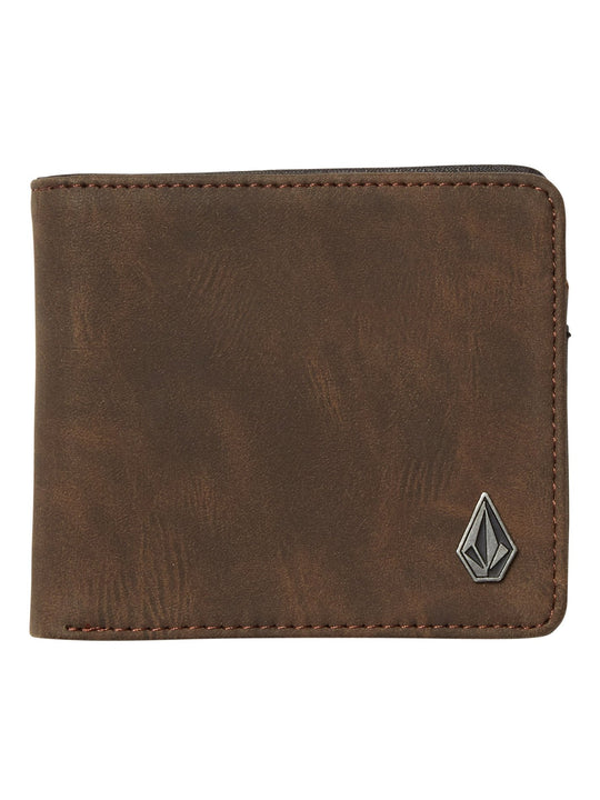 Slim Stone Wallet - Brown (D6031855_BRN) [F]
