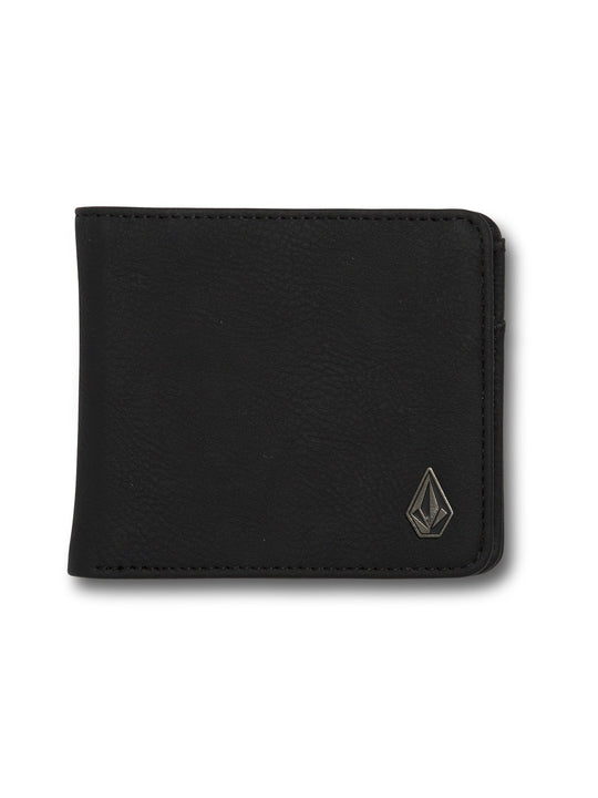 Slim Stone Wallet  - New Black