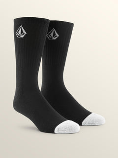 Full Stone Sock Sock - Black
