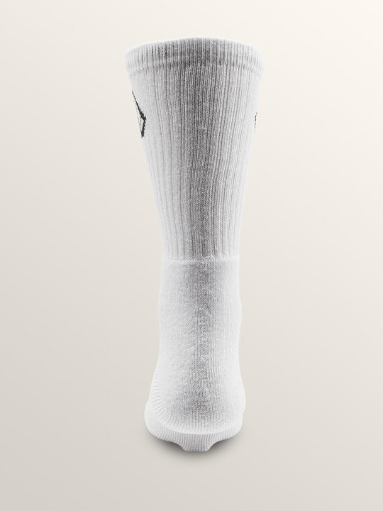 Full Stone Sock Sock - White