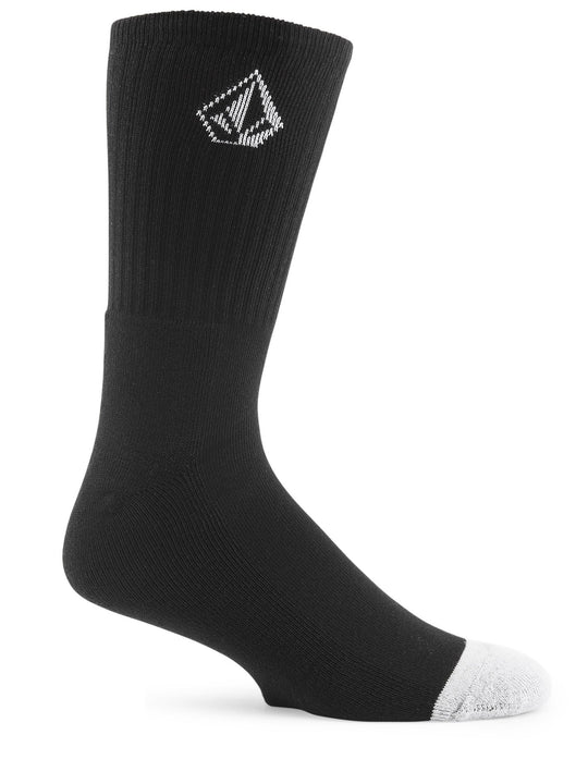 Full Stone Sock (3 Pack) - Black (D6321800_BLK) [B]
