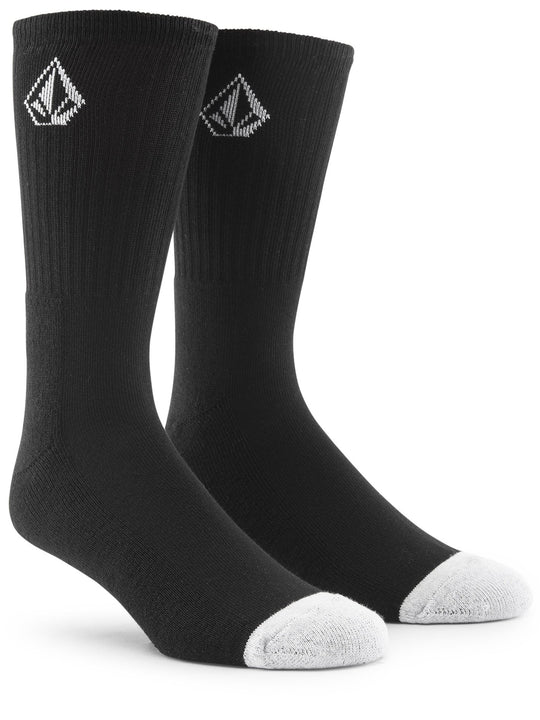 Full Stone Sock (3 Pack) - Black (D6321800_BLK) [F]