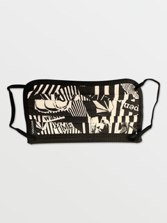 Volcom Assorted Face Mask - White Black (Pre-Order) (D6702008_WHB) [F]
