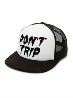 Don't Even Trip Hat - White