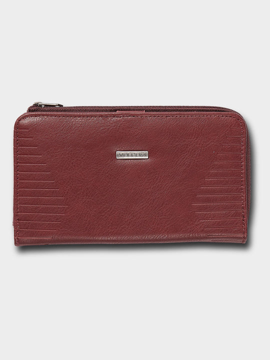 Line Wallet  - Bark Brown