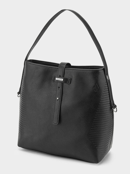 Line Bucket Bag  - Black