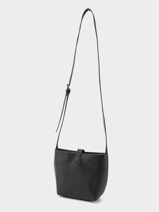 Line Crossbag  - Black