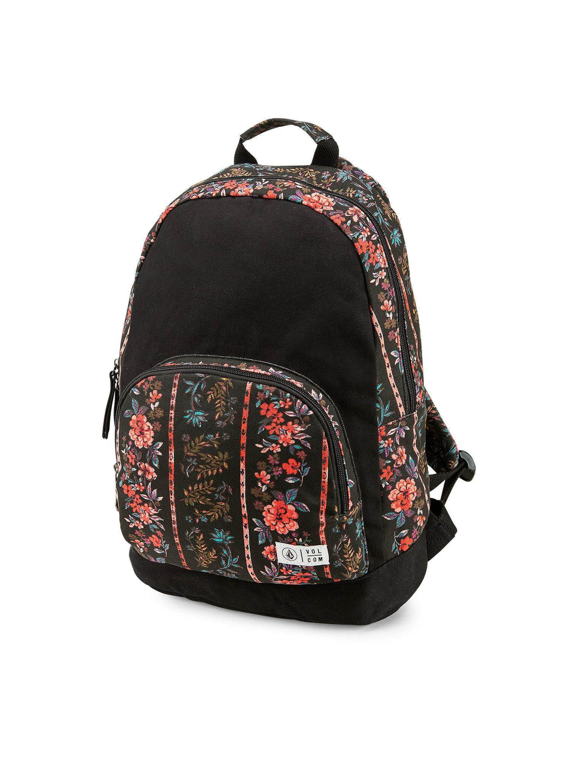 Schoolyard Canvas Backpack - Black Print