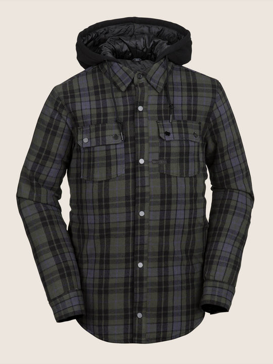 Field Insulated Flannel - Black
