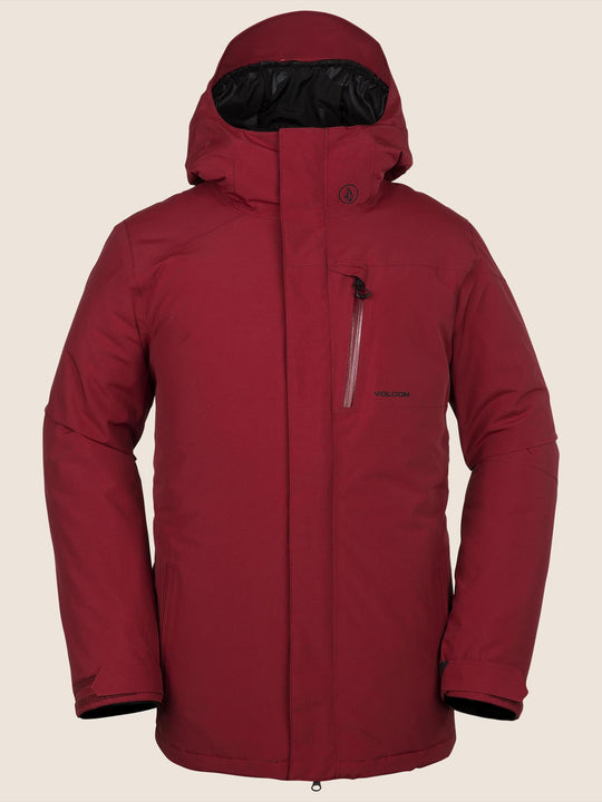 L Insulated GORE-TEX Jacket - Red