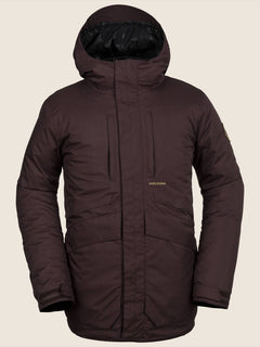 Fifty Fifty Insulated Jacket - Black Red