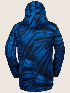 Fifty Fifty Insulated Jacket - Blue Tie-dye