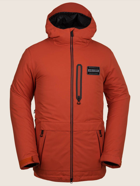 Analyzer Insulated Jacket - Burnt Orange