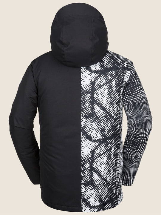 17 Forty Insulated Jacket - Black/White