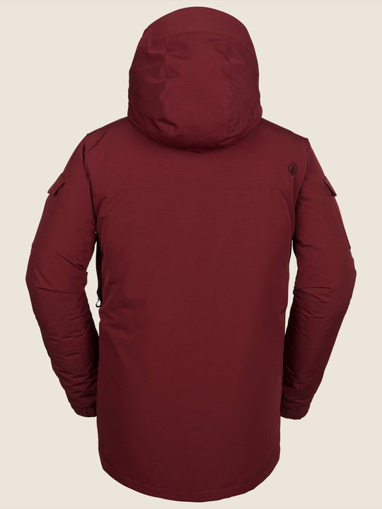 Lynx Insulated Jacket - Burnt Red