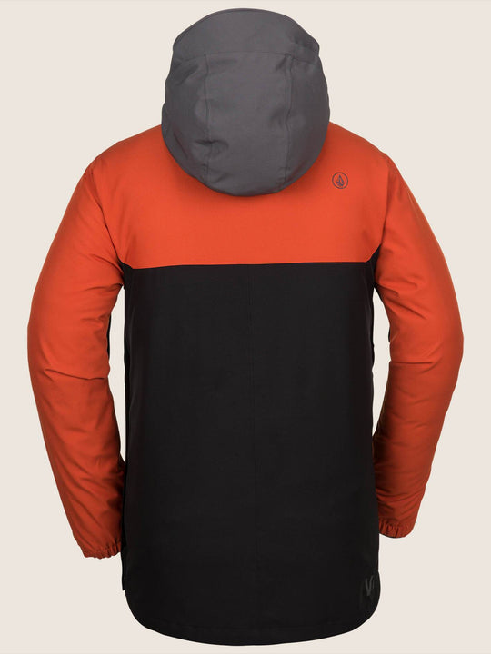 Brighton Pullover Jacket - Burnt Orange