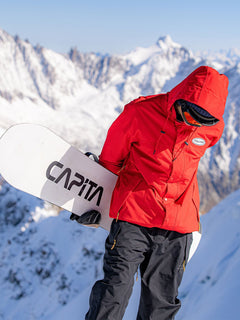 LONGO GORE-TEX JACKET (G0652112_RED) [001]