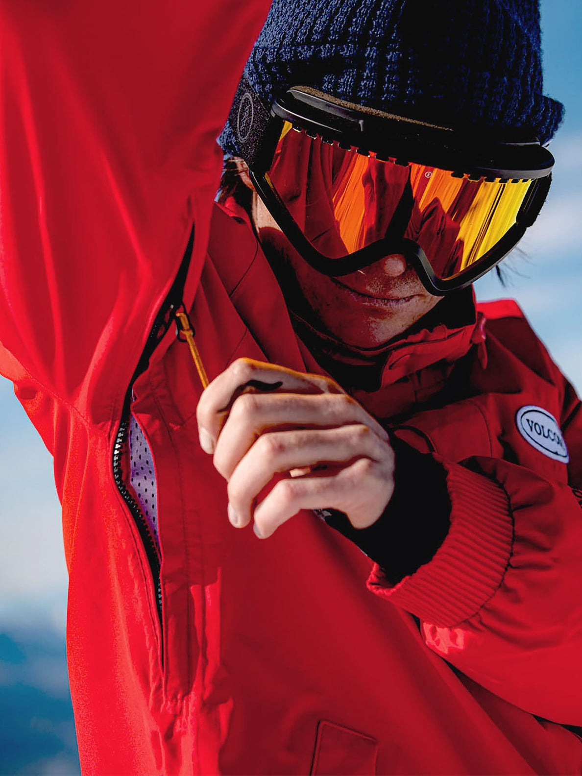 LONGO GORE-TEX JACKET (G0652112_RED) [005]