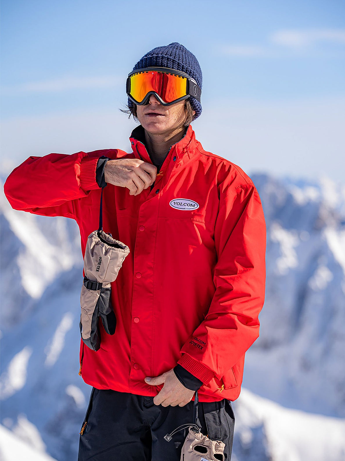 LONGO GORE-TEX JACKET (G0652112_RED) [009]