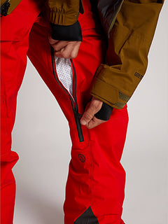 Guch Stretch GORE-TEX Pants - Fire Red