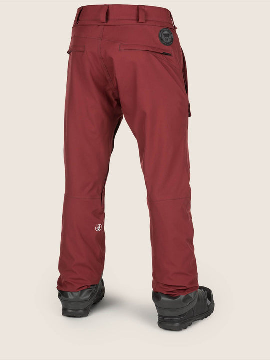 Pat Moore Pants - Burnt Red
