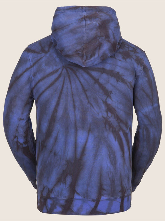 Jamies Fleece - Blue Tie-dye