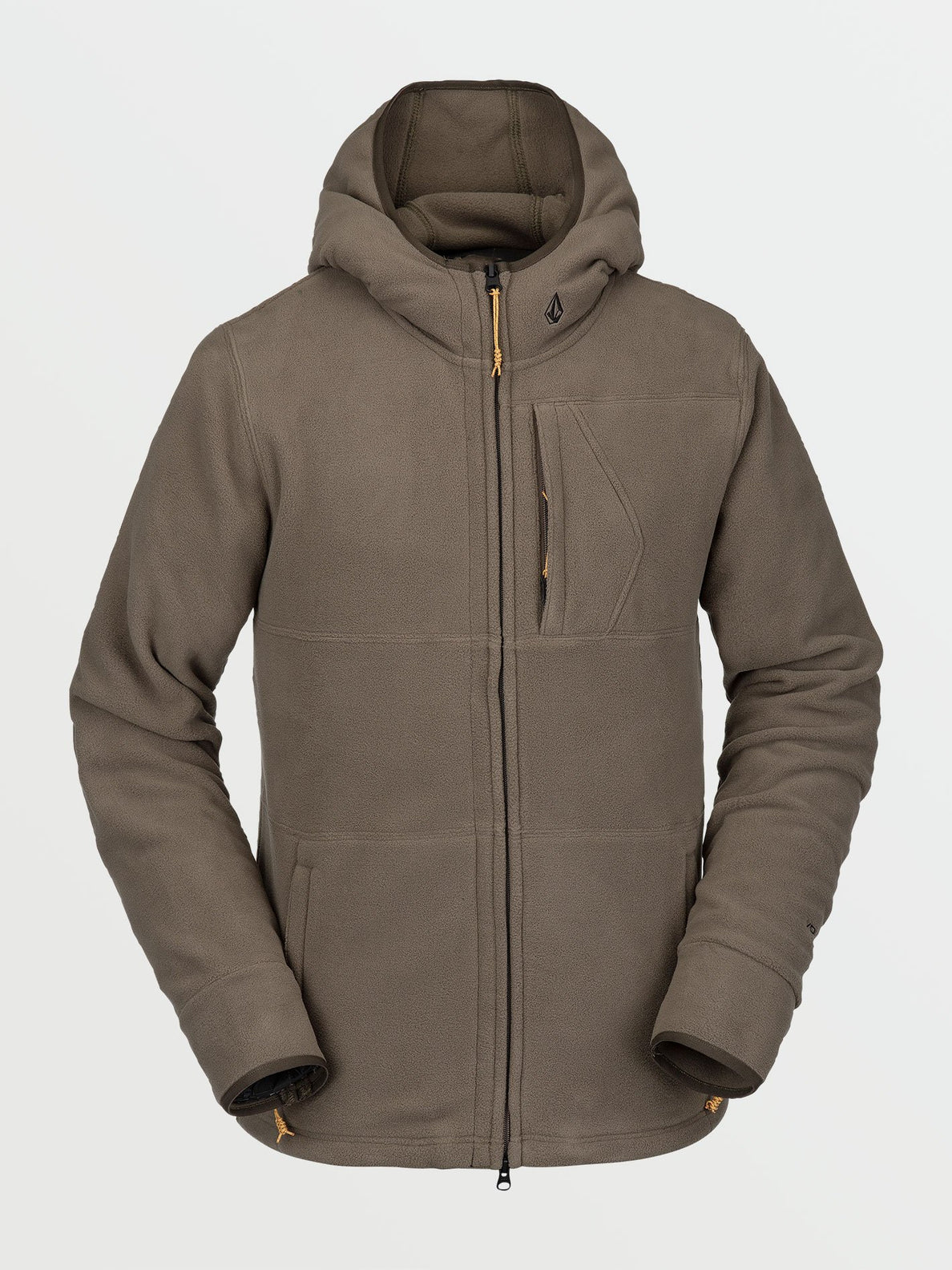 Polartec® Fleece - Dark Teak