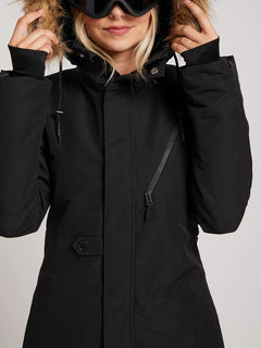 Fawn Insulated Jacket - Black