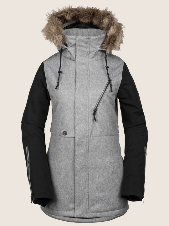 Fawn Insulated Jacket - Heather Grey