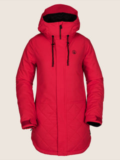 Winrose Insulated Jacket - Crimson