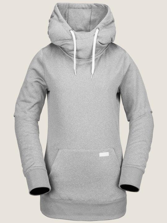 Yerba Pullover Fleece - Heather Grey