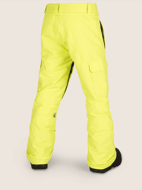 cargo-ins-pant-lime(Kids)