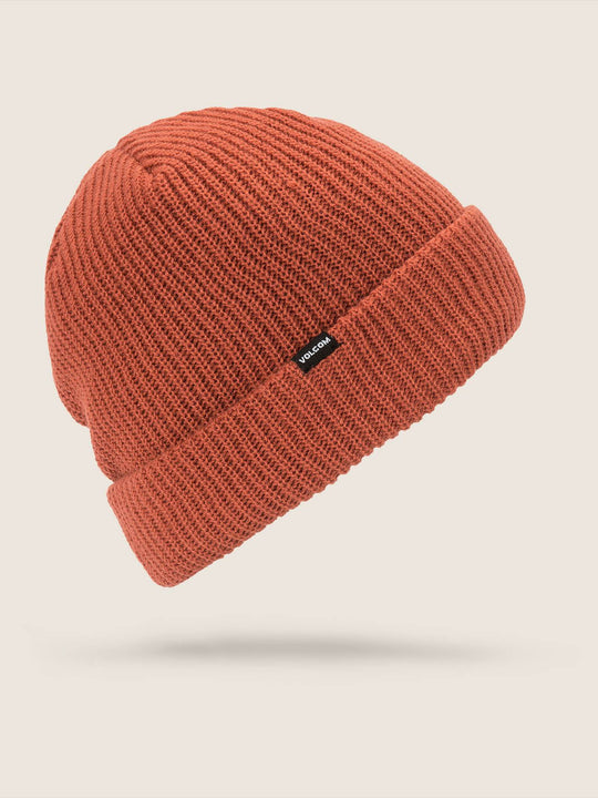 Sweep Lined Beanie - Burnt Orange