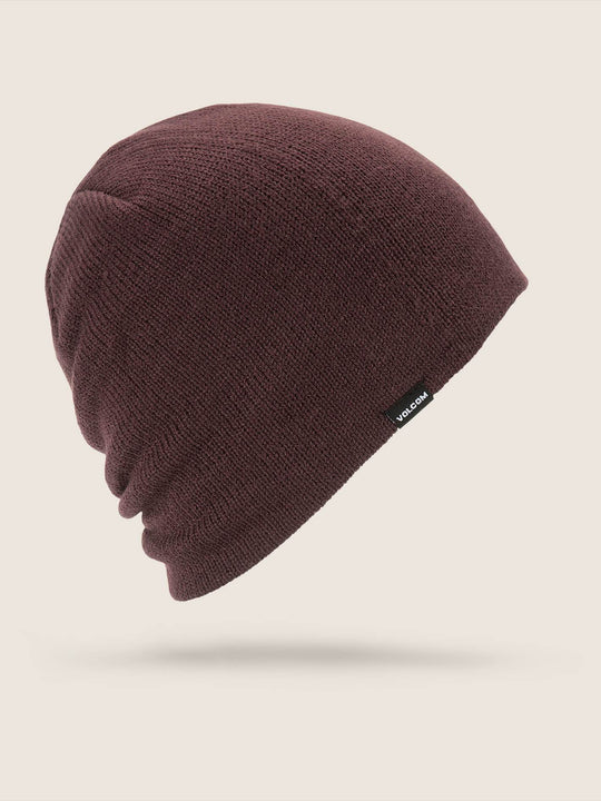 Woolcott Beanie - Black Red
