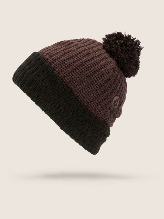 TTT Lined Beanie - Black Red