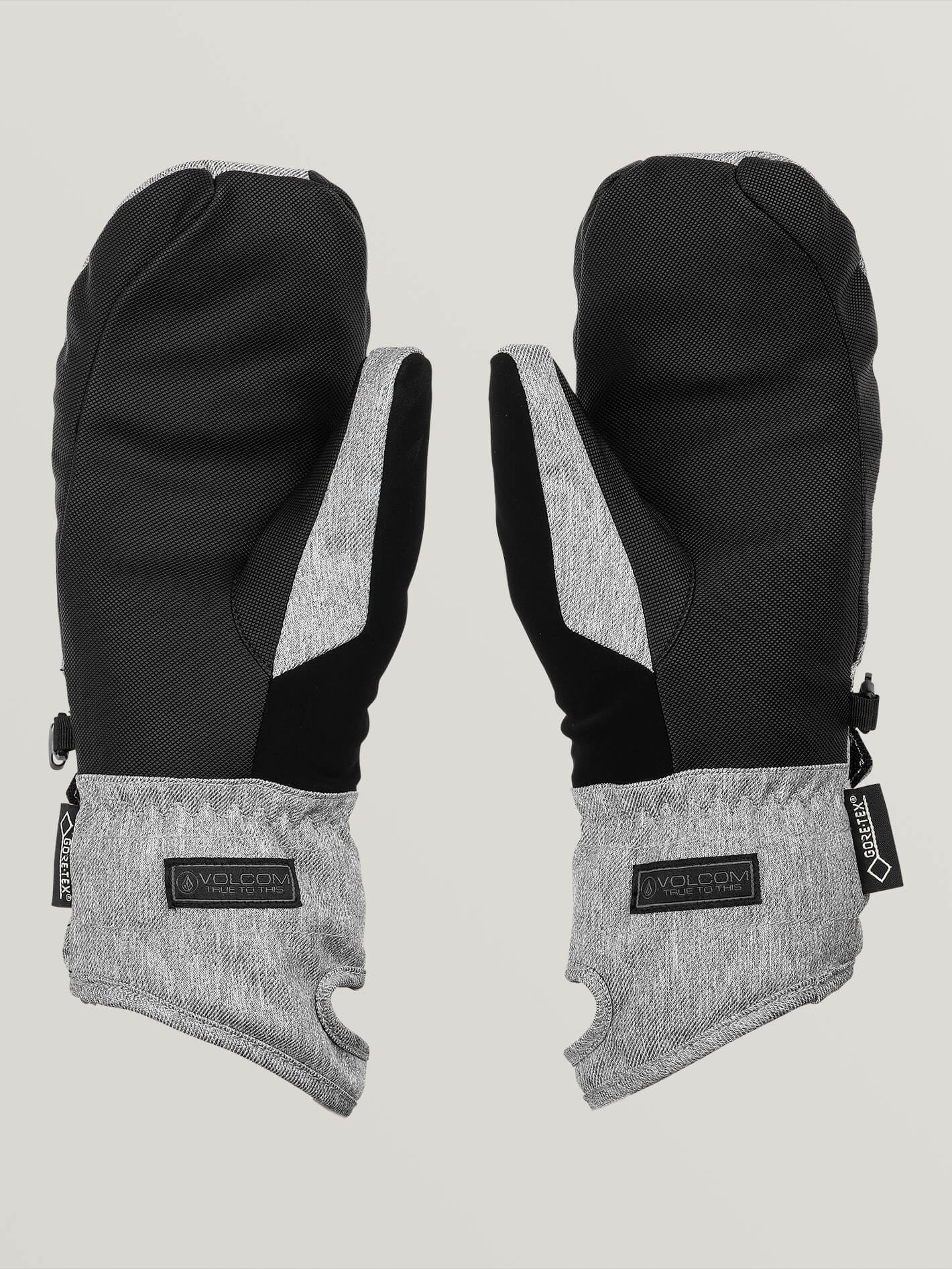 Volcom Peep Gore-Tex Mitt Heather Grey
