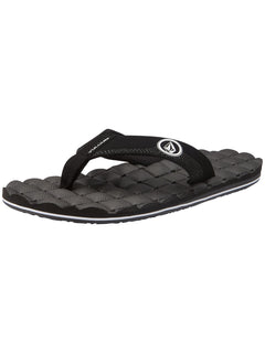 Recliner Sandals - Black White (V0811520_BWH) [5]