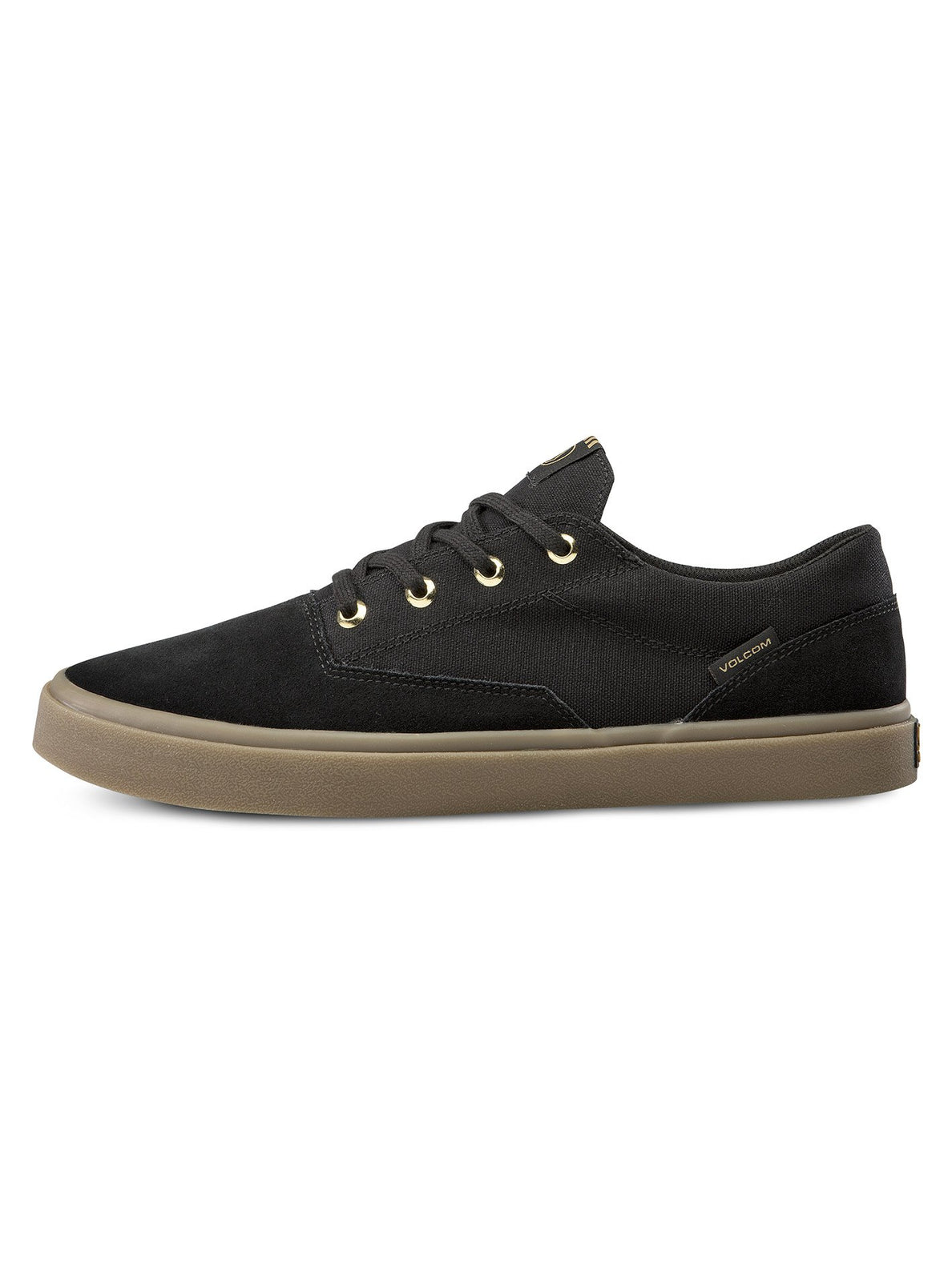 Draw Lo Suede Shoe - Black Out (V4011899_BKO) [1]