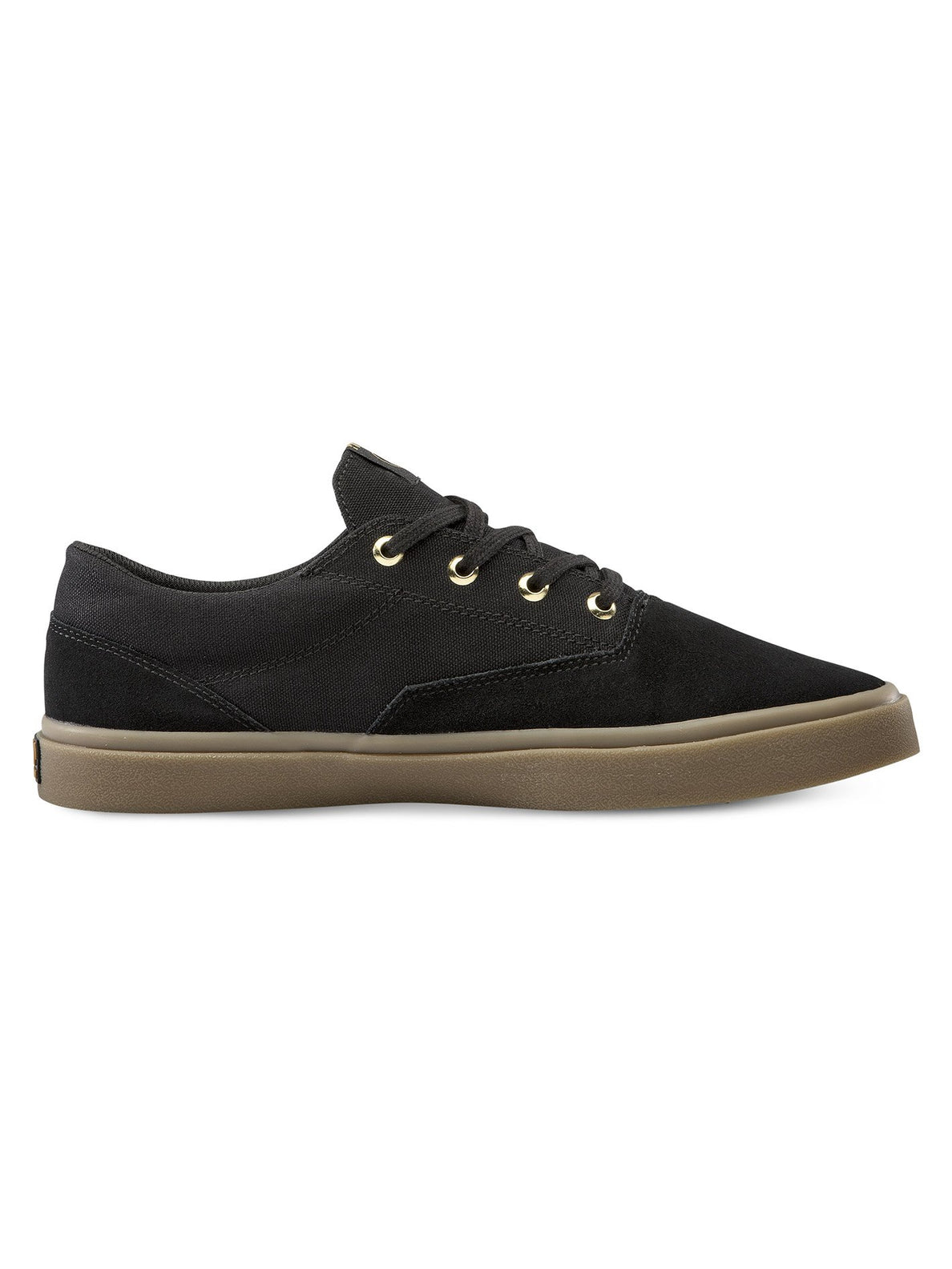Draw Lo Suede Shoe - Black Out (V4011899_BKO) [2]