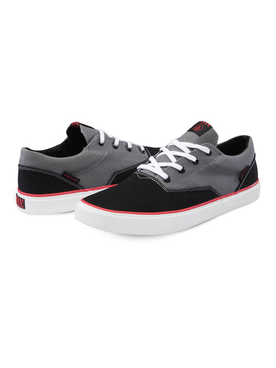 Draw Lo Shoes - Black Grey