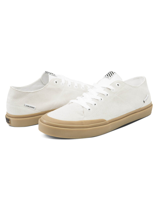 Leeds Suede Shoes - Egg White