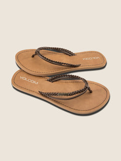 Tour Sandals - Brown