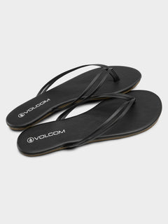 Wrapped Up Sandals - Black