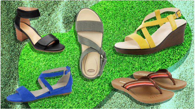 Dr. Ragland in SheKnows! Podiatrists Tell Us How to Pick Sandals So Comfortable You Can Wear Them All Day